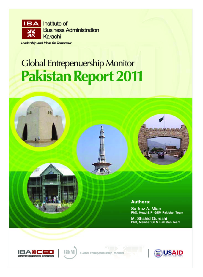 entrepreneurship in pakistan research paper Pakistan the paper highlights that support for research and integrated model for entrepreneurship development in pakistan.