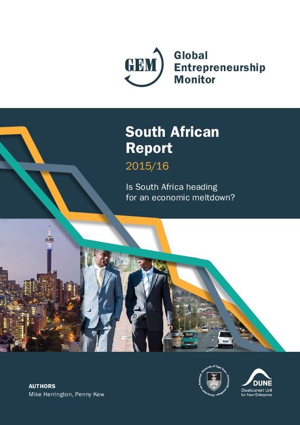 global entrepreneurship monitor 2016 pdf