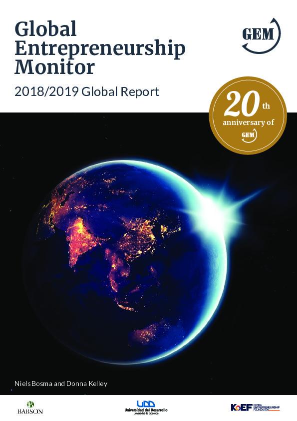 GEM Global Entrepreneurship Monitor